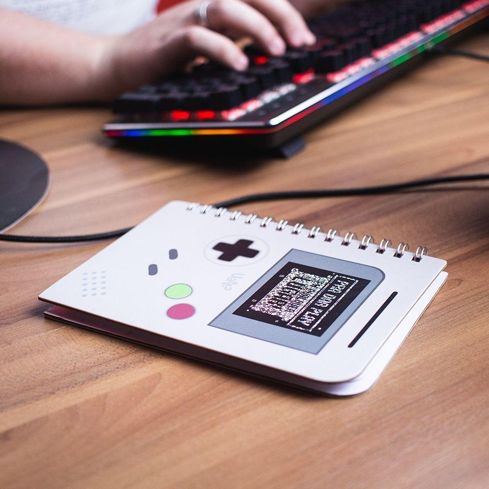 Bloco de notas - Game Geek