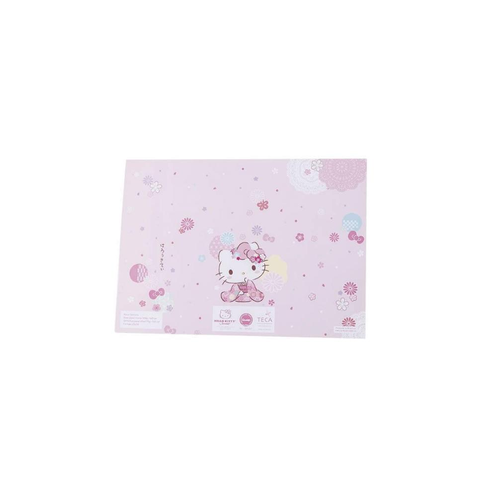 Bloco semana hello kitty sakura