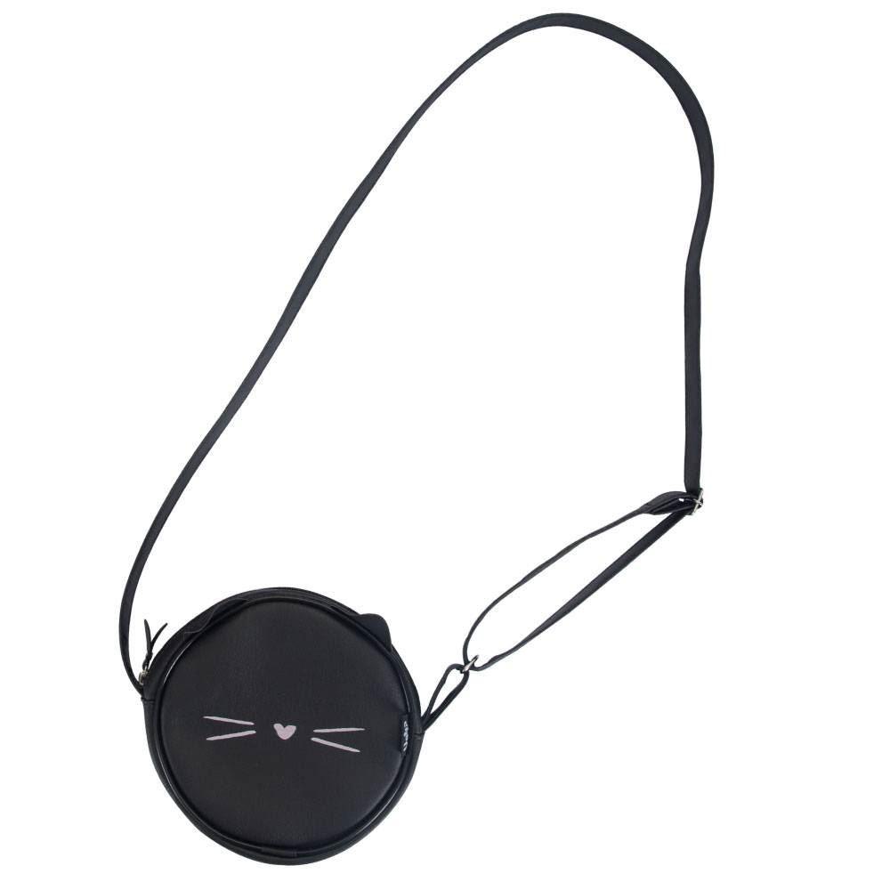 Bolsa tiracolo round gatinha