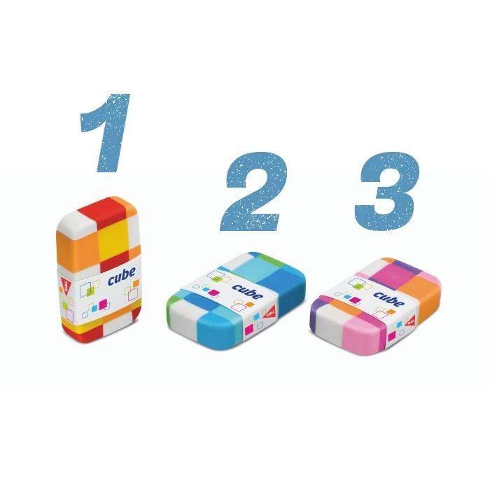 Borracha cube - Tris