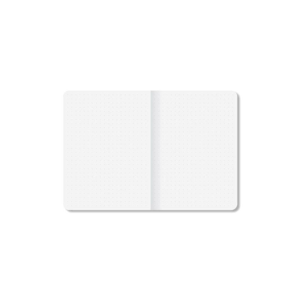 Caderneta de anotações pontada a5