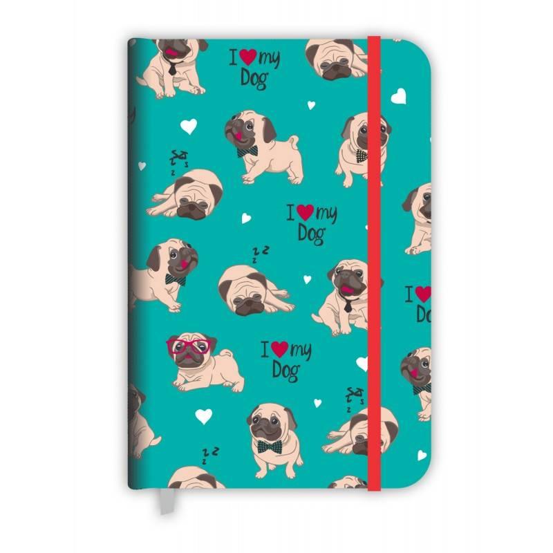 Caderneta média cachorro