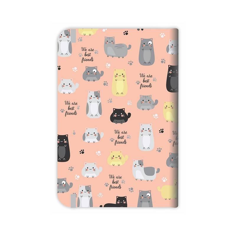 Caderneta média gato