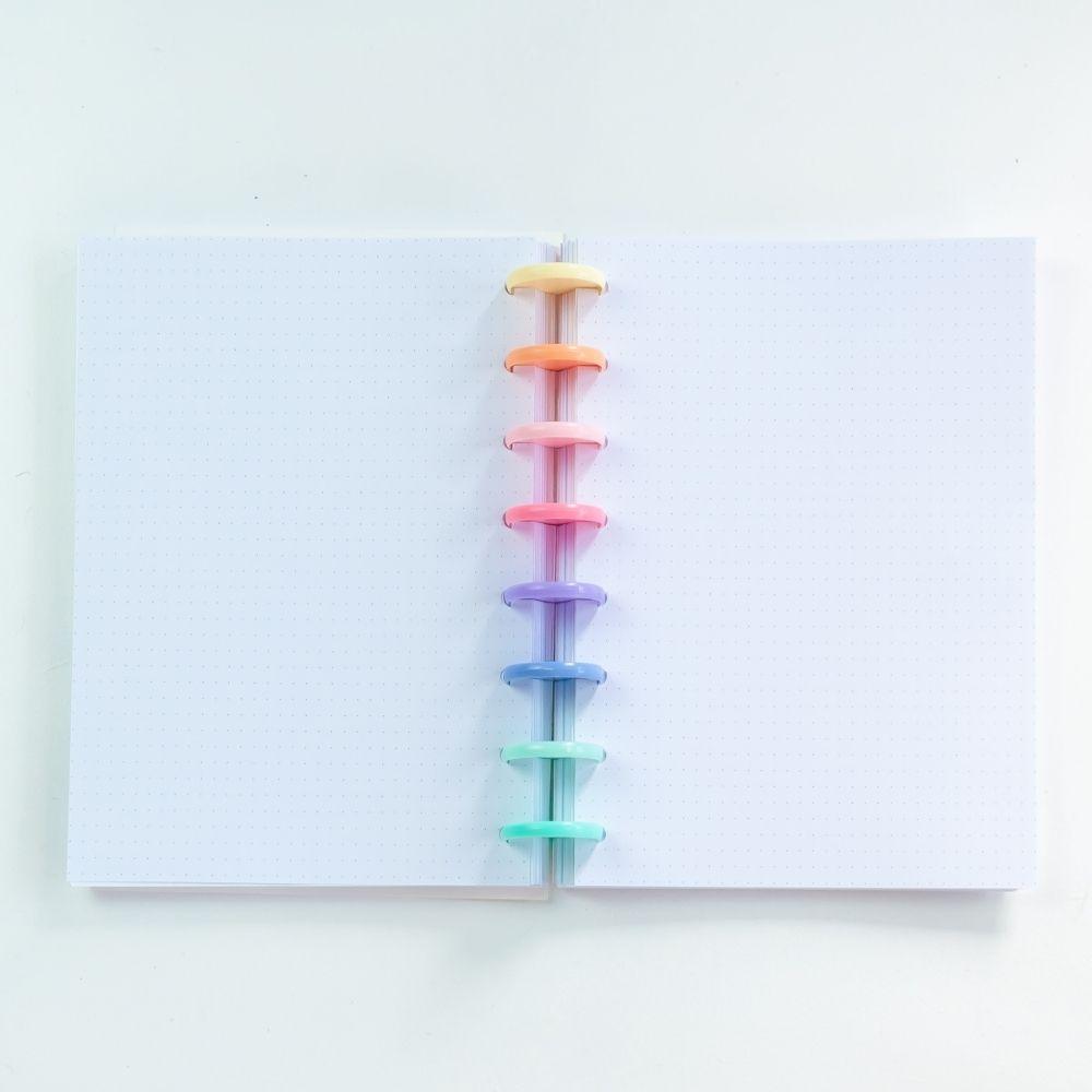 Caderno A5 free spirit (rainbow)