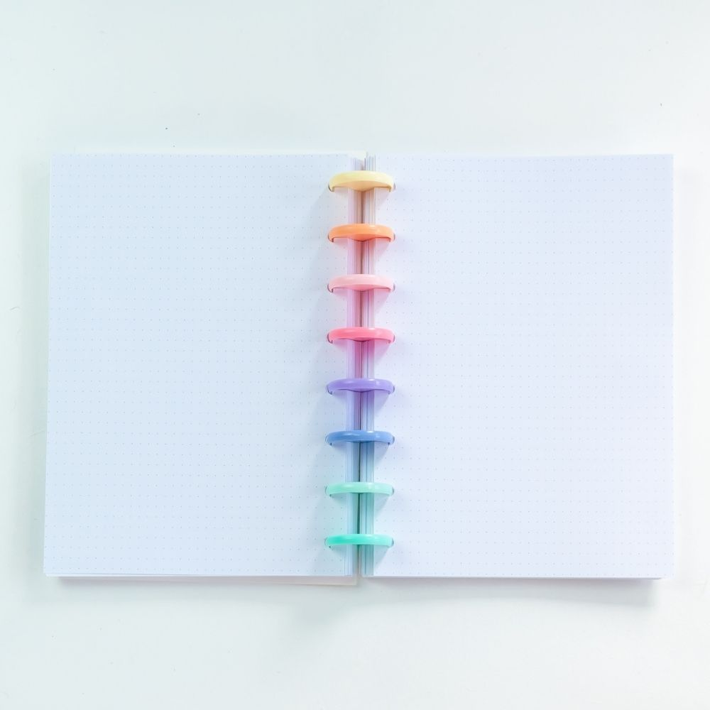 Caderno A5 minimalista (pink)