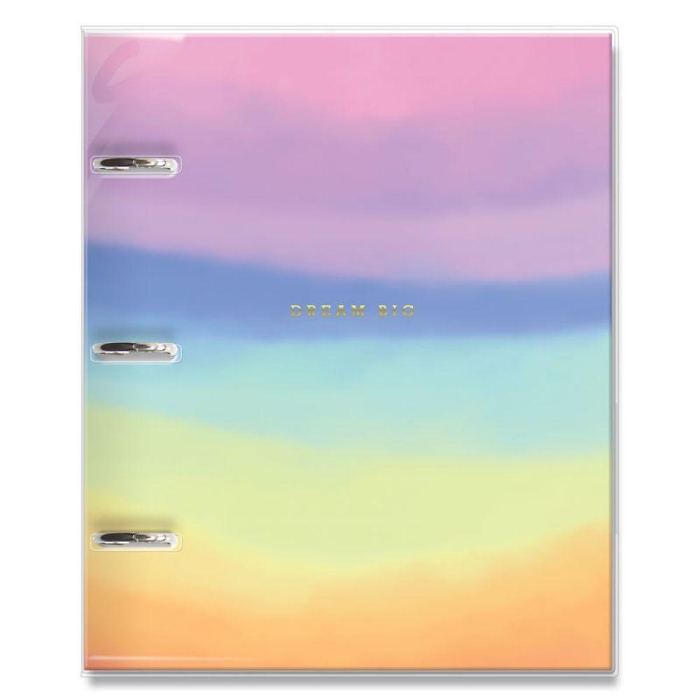 Caderno argolado fichário Tie dye