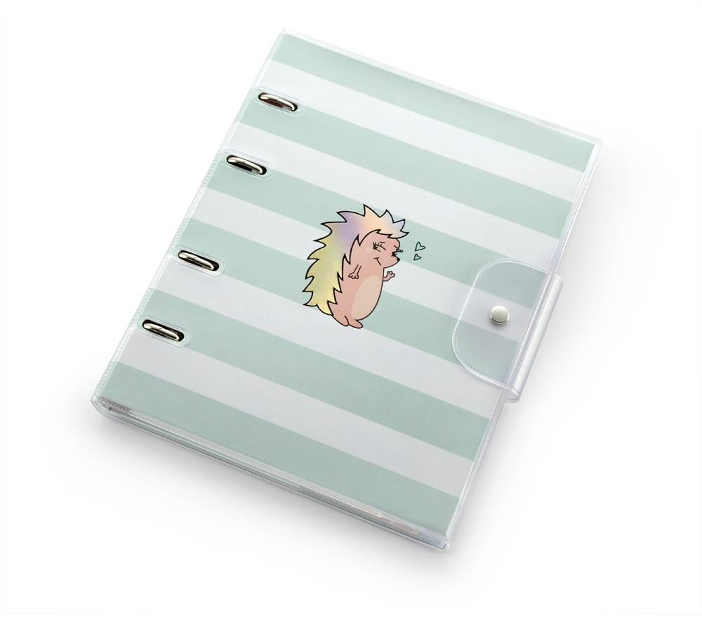 Caderno argolado riccio pvc ultra