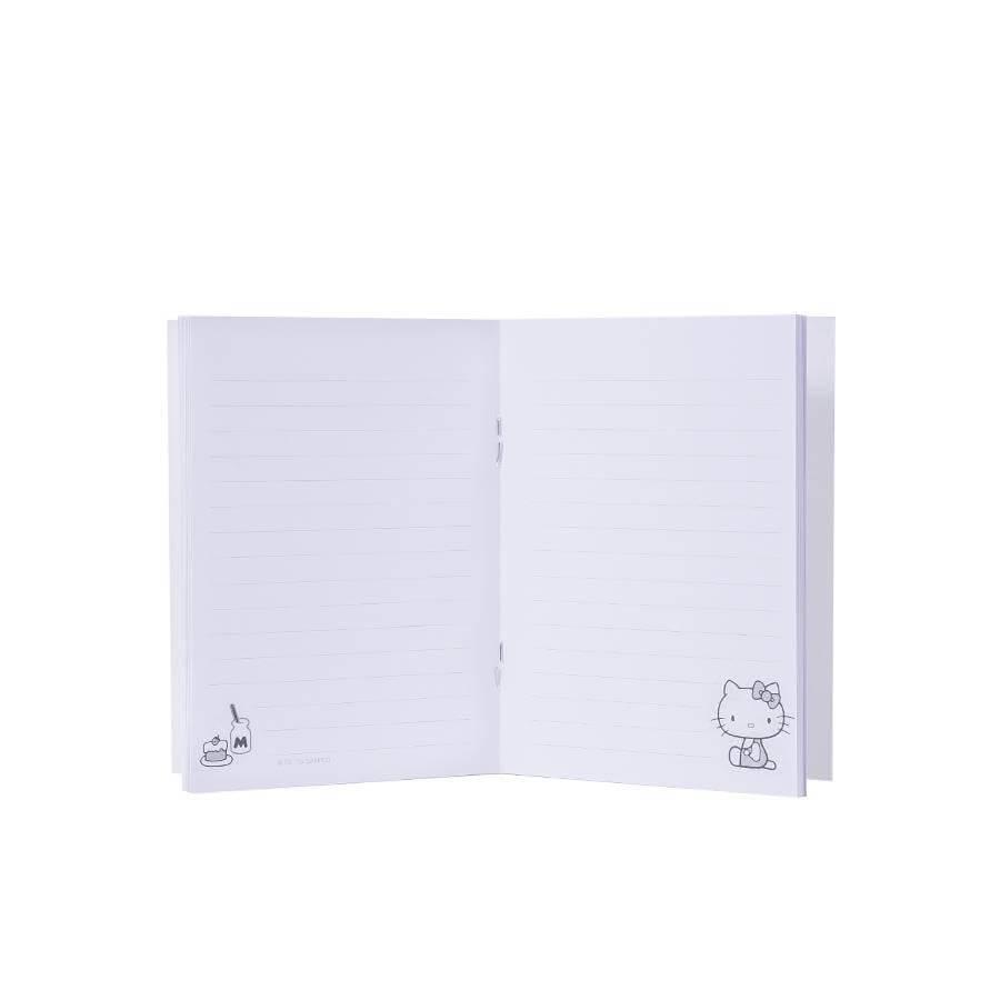Caderno flexível p hello kitty 45 anos