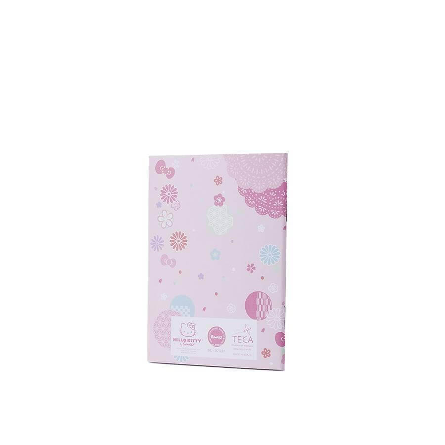 Caderno flexível p hello kitty sakura