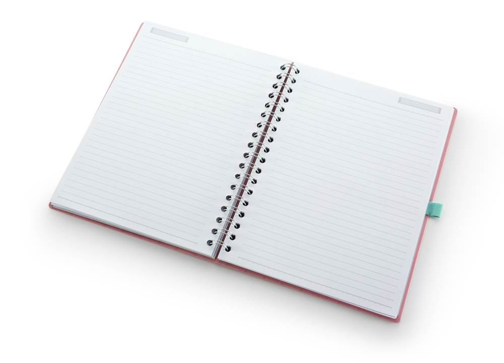 Caderno riccio ultra laranja
