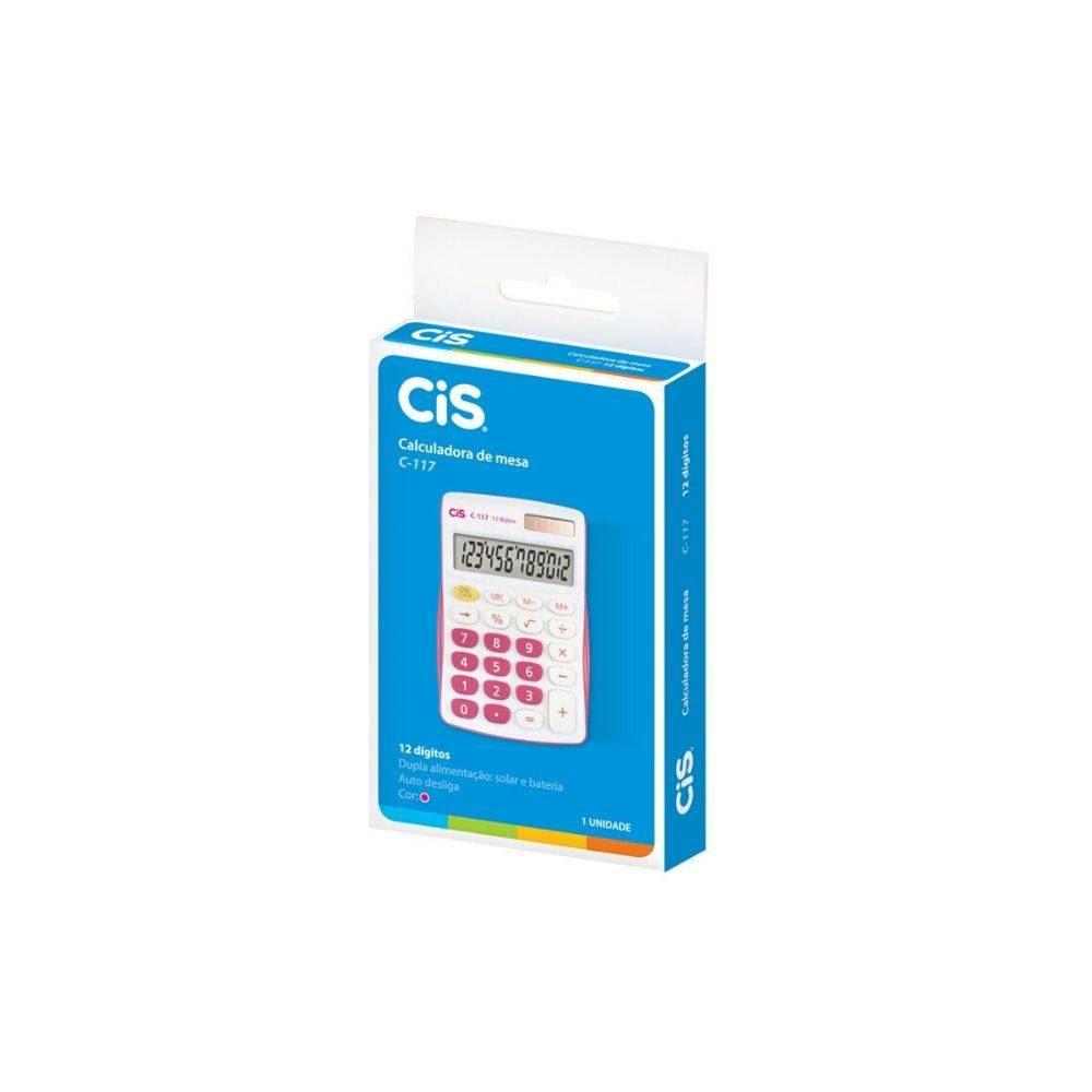 Calculadora de mesa C-117 Cis