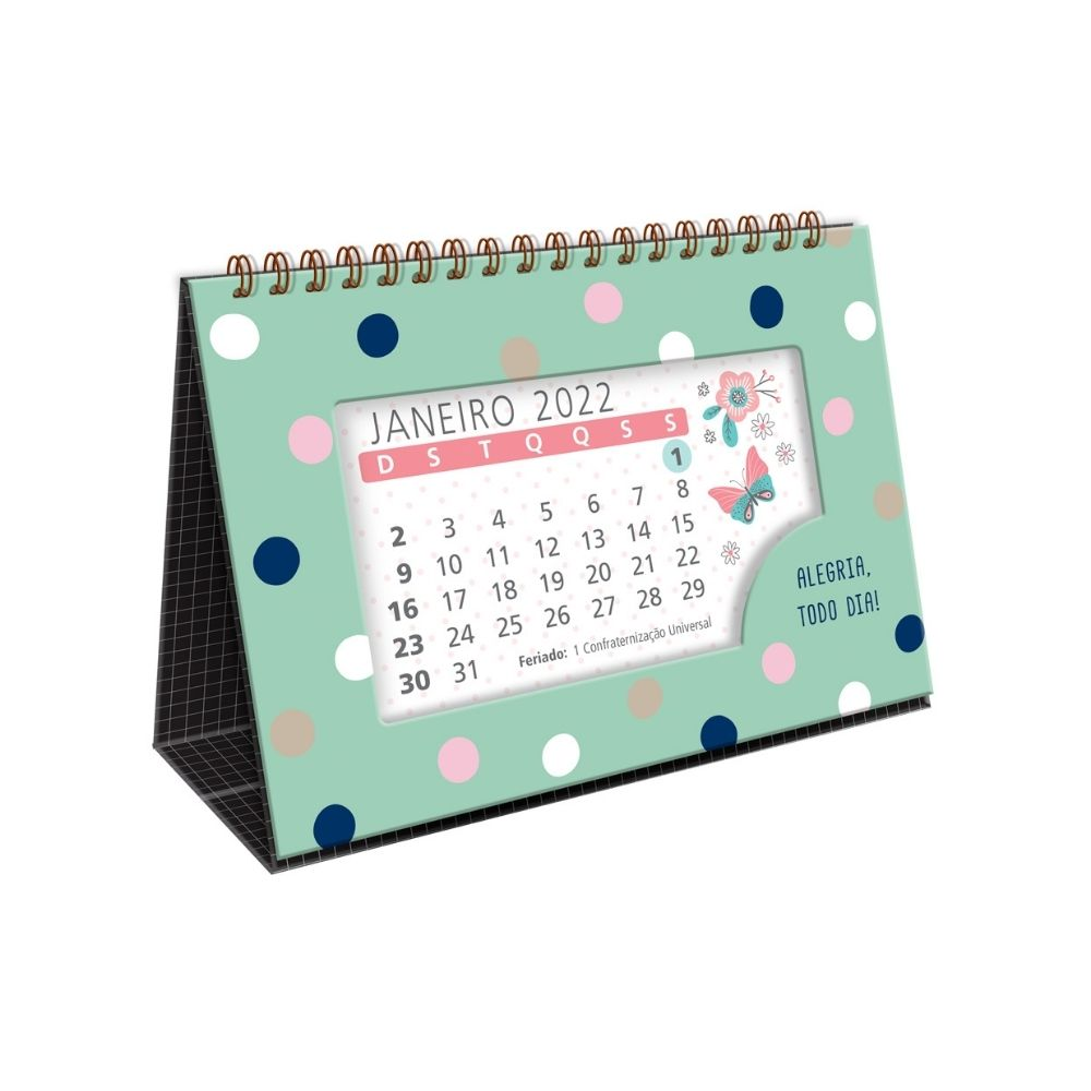 Calendário de mesa poá - 2022