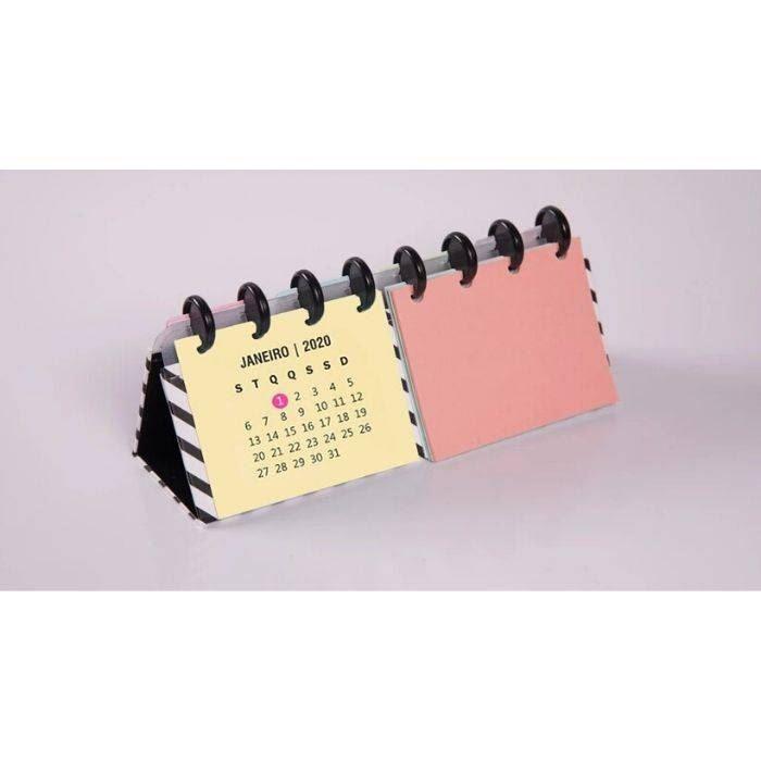 Calendário inteligente com bloco de notas
