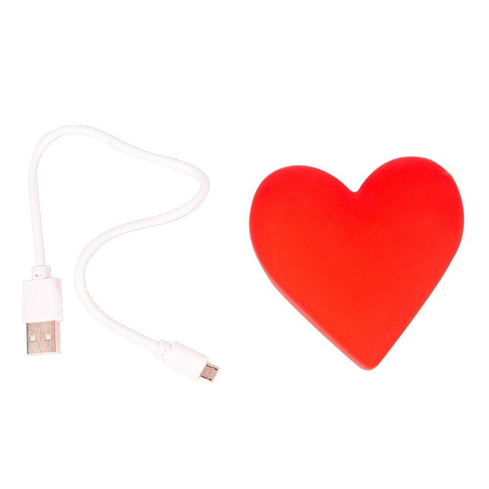 Carregador portátil Coração