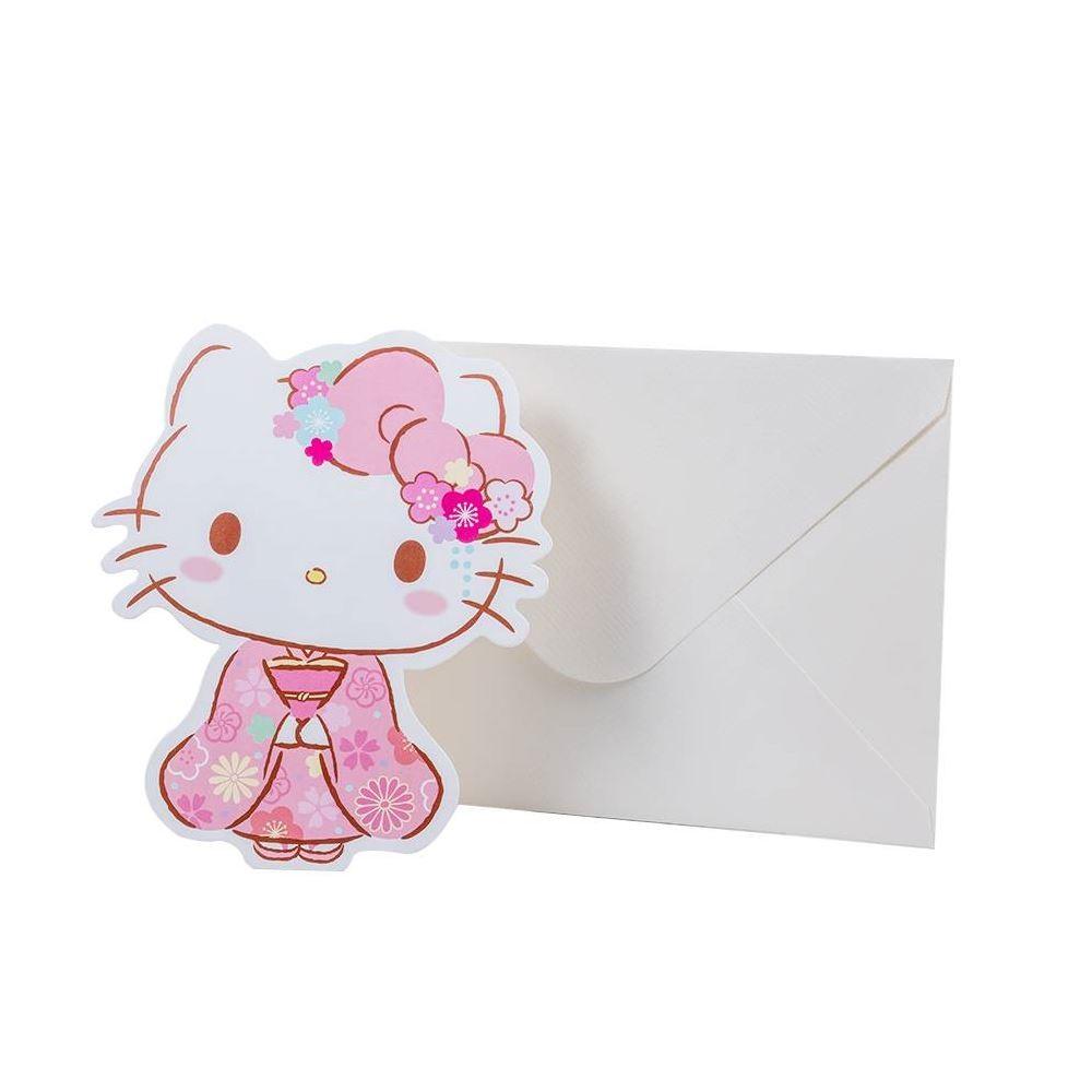 Cartão hello kitty sakura