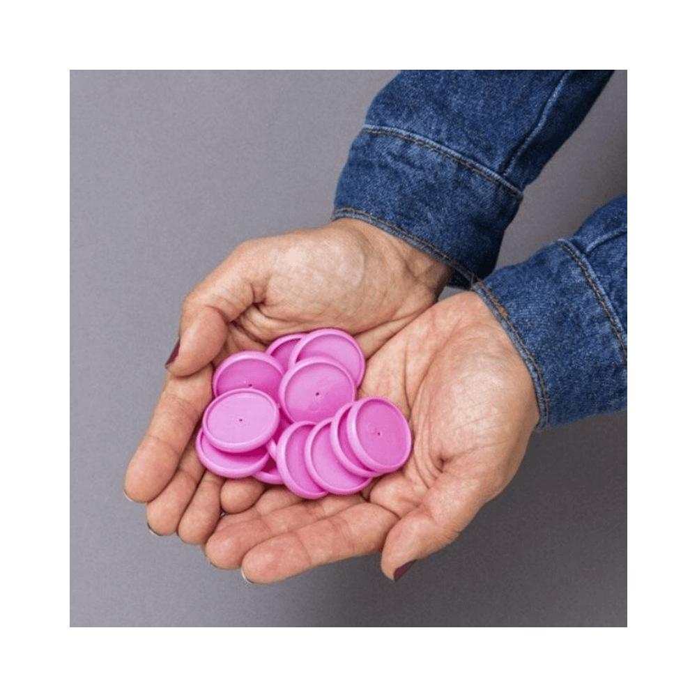 Discos + elástico - caderno inteligente