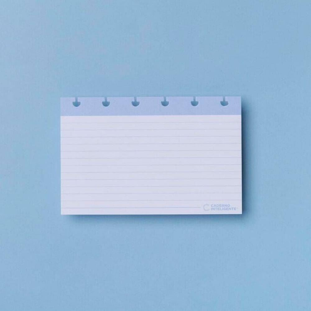 Fichas pautadas caderno inteligente