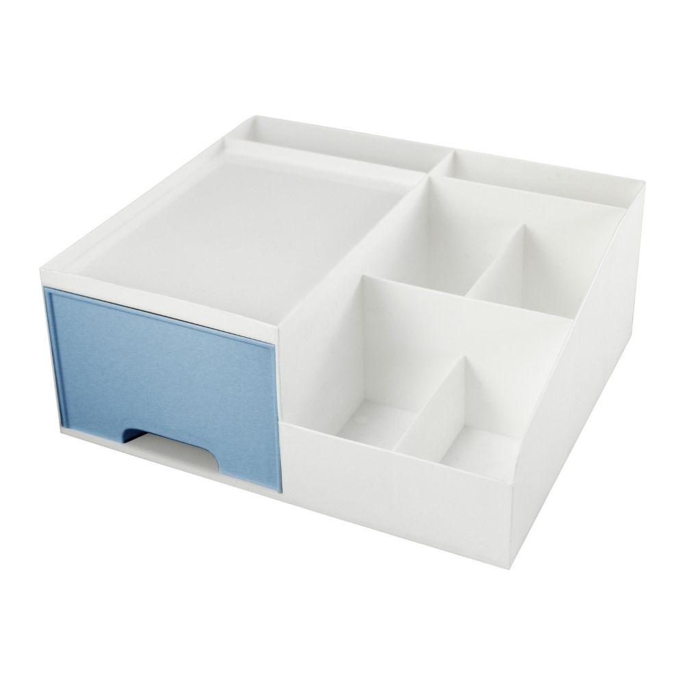 Gaveteiro organizador de mesa - Azul