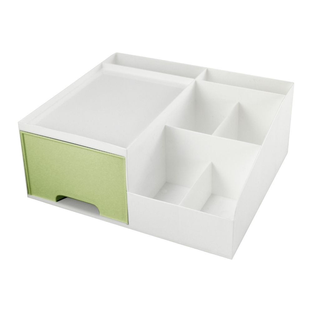 Gaveteiro organizador de mesa - Verde