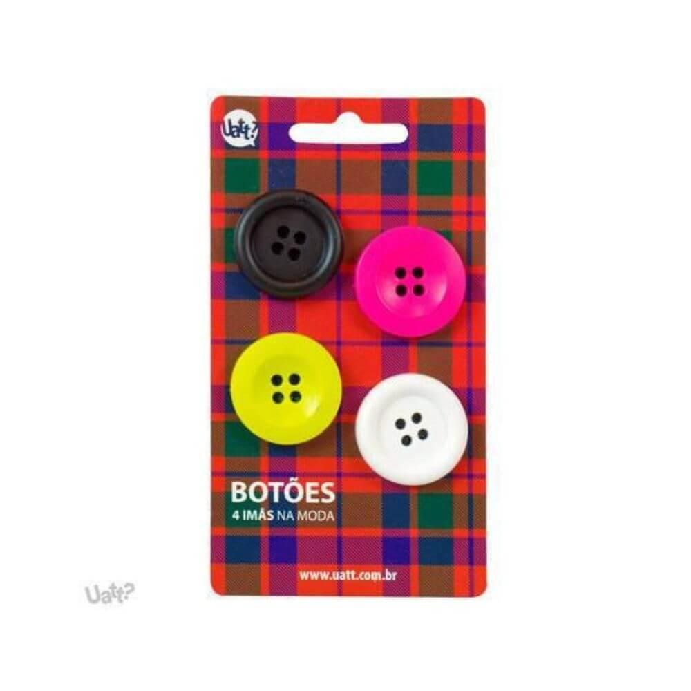Imãs magnéticos divertidos - botões