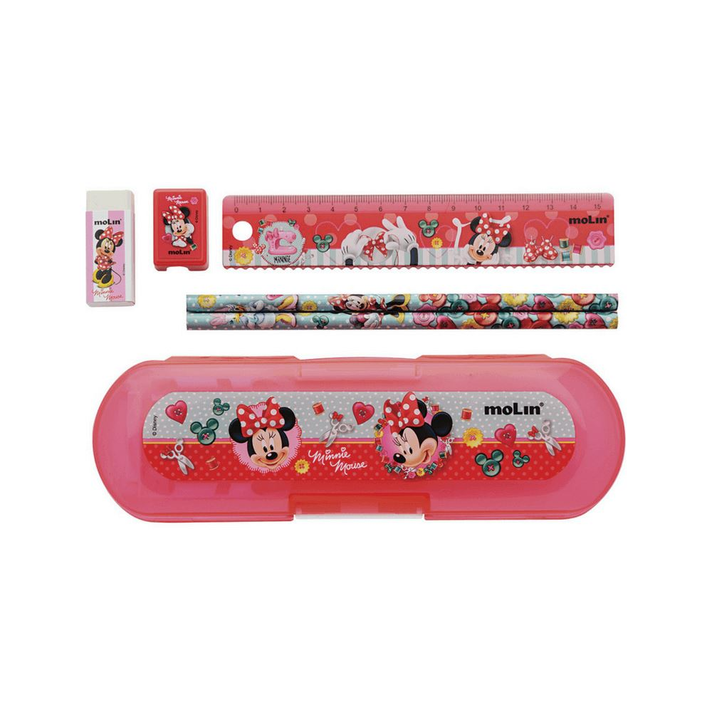 Kit molin escolar fashion minnie