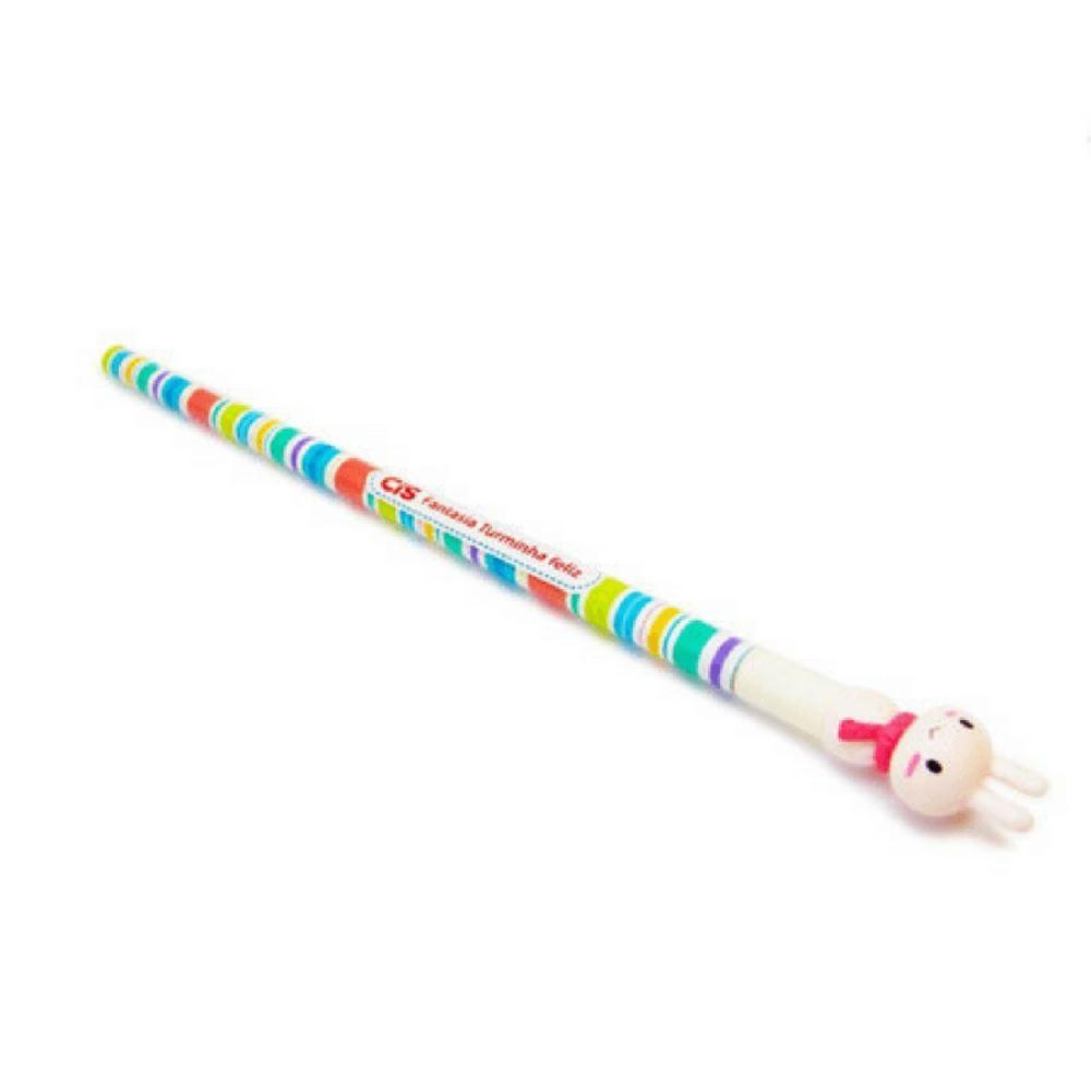 Lápis cis turminha feliz