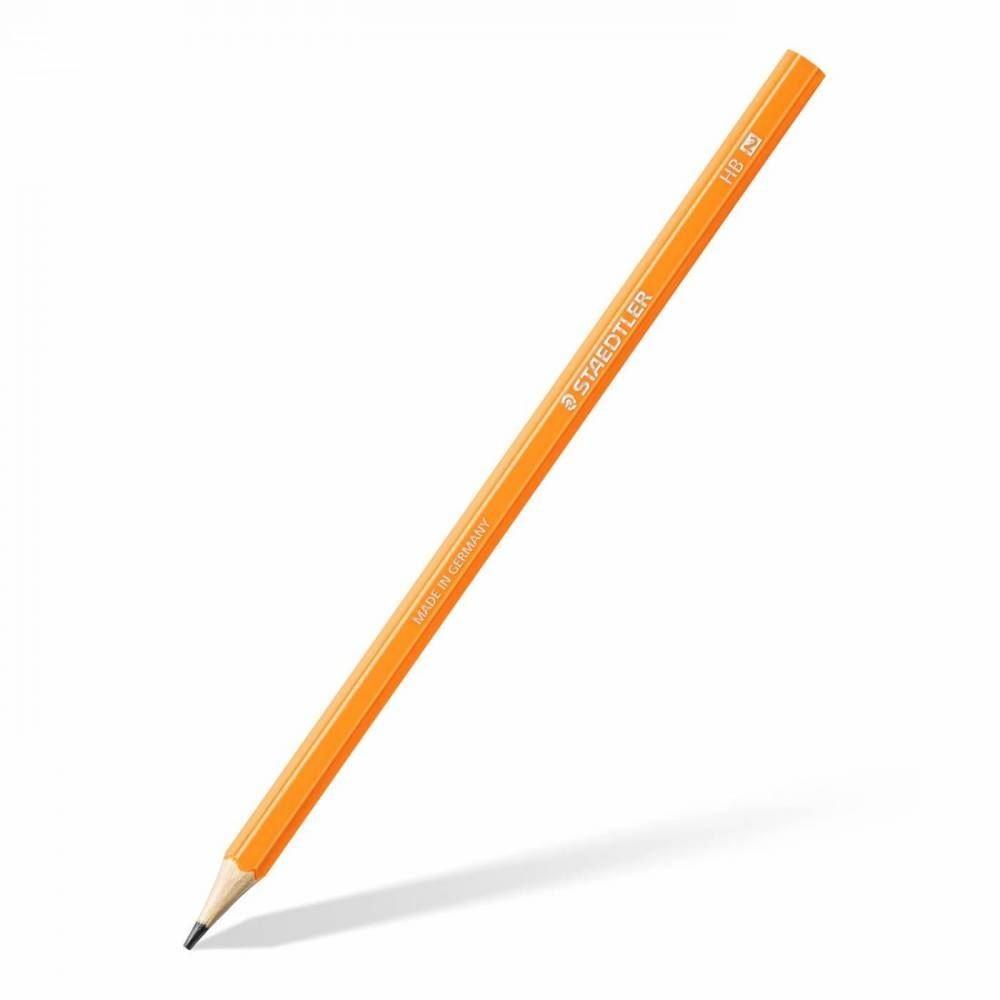 Lápis preto hb wopex neon - kit com 6 unid