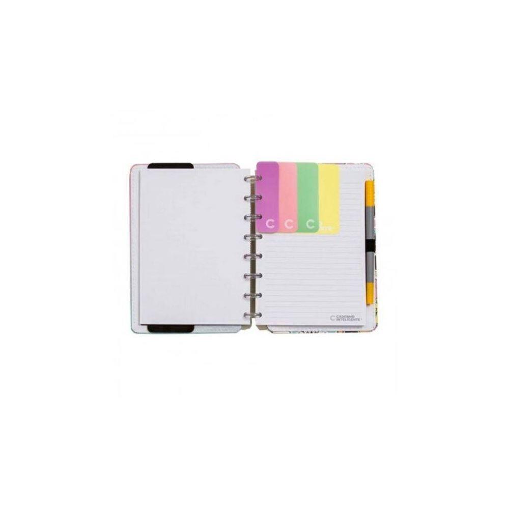 Marcador de página caderno inteligente