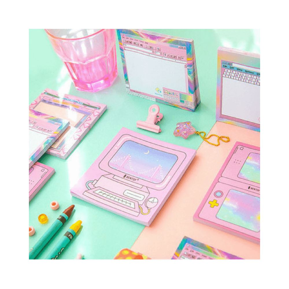 Memo pad cyber color