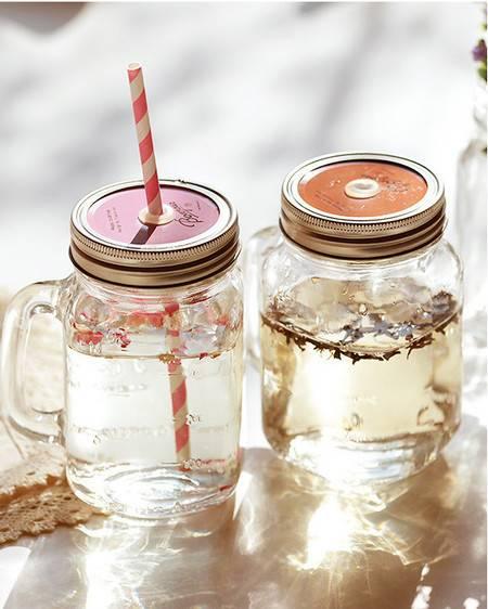 Mini jarra vintage bonjour