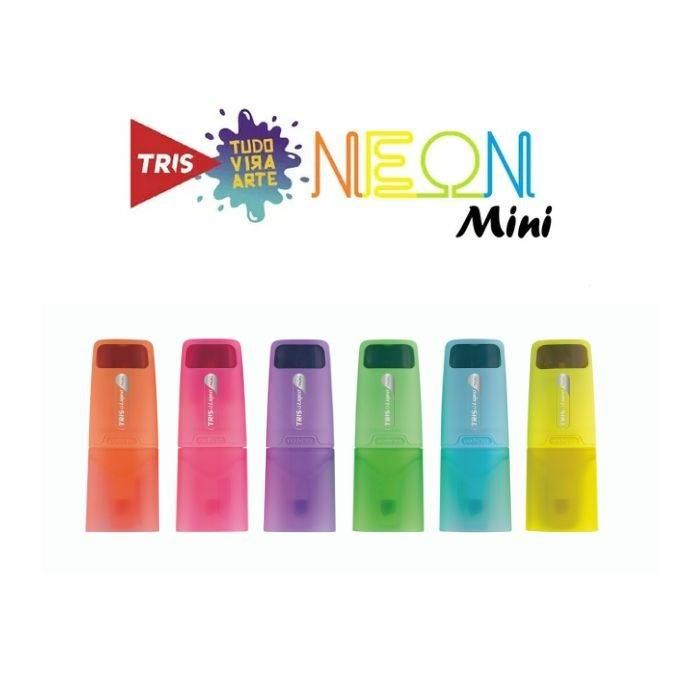 Mini marca texto liqeo neon - Tris