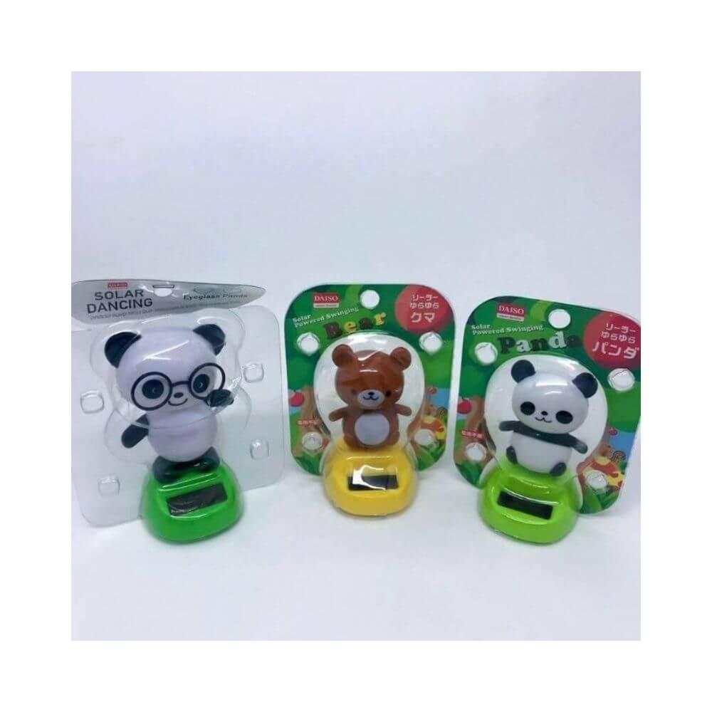 Panda e urso - solar dancing