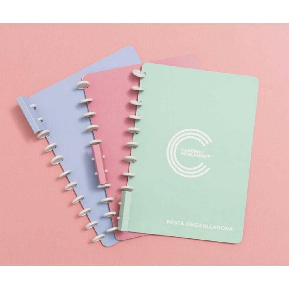 Pasta organizadora caderno inteligente