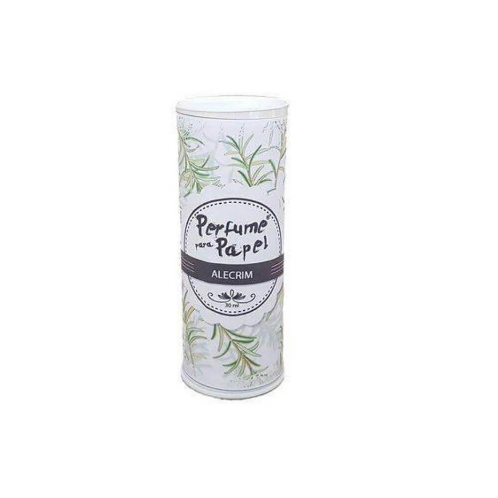 Perfume para papel - aroma alecrim - 30 ml