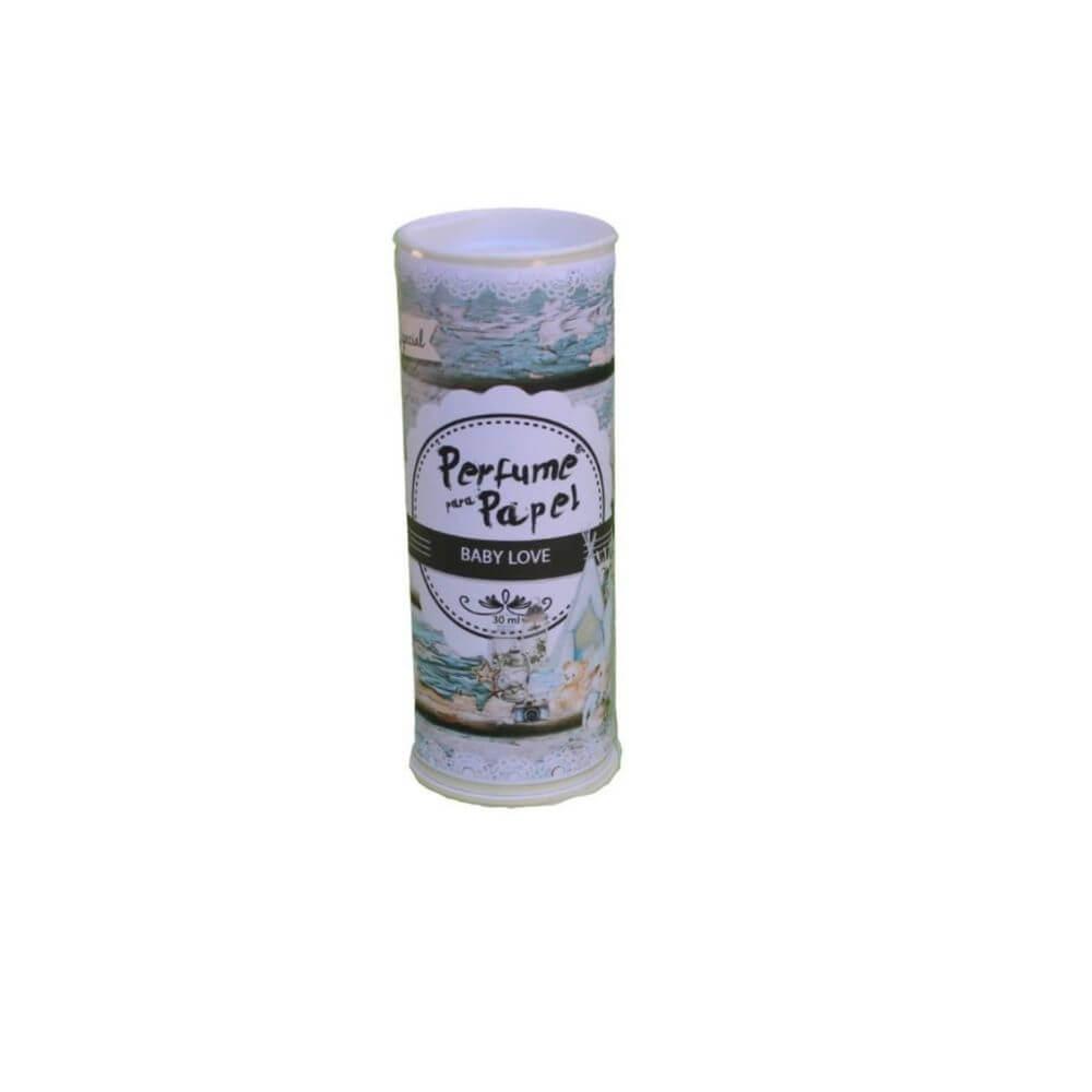 Perfume para papel - aroma baby love - 30 ml ed. especial