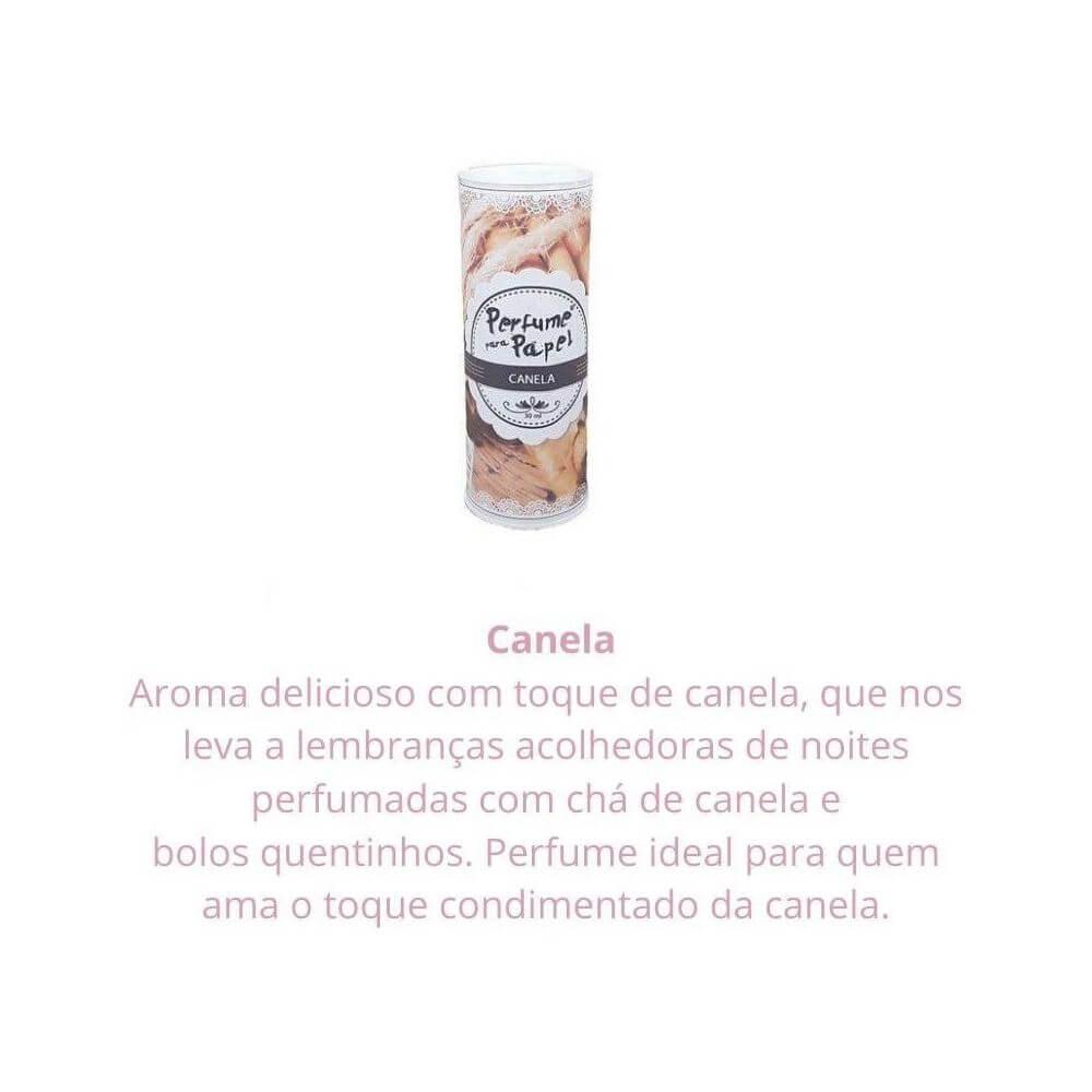Perfume para papel - aroma canela - 30 ml