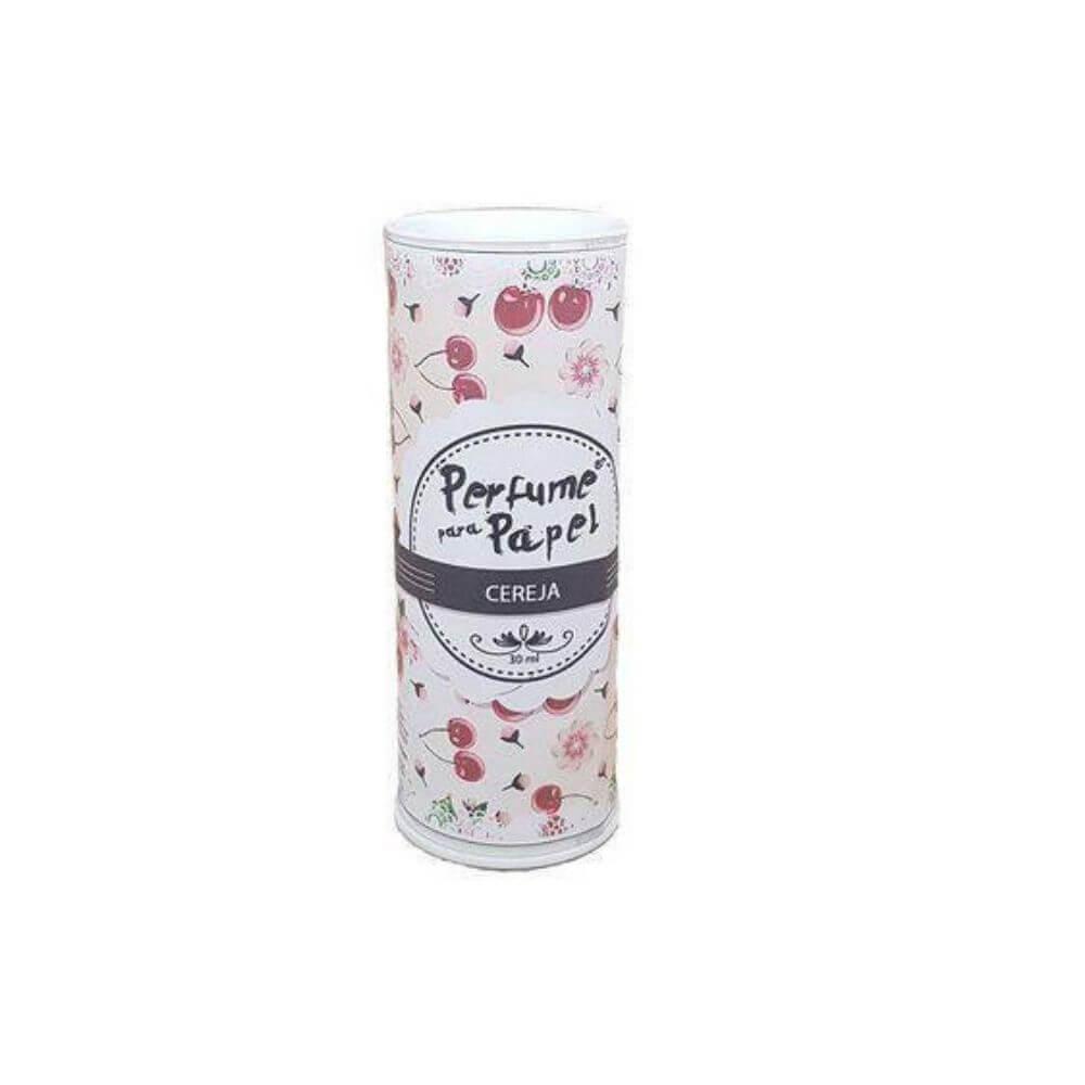 Perfume para papel - aroma cereja - 30 ml