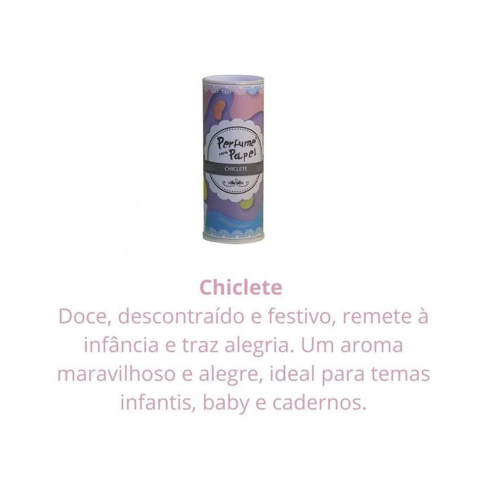 Perfume para papel - aroma chiclete - 30 ml