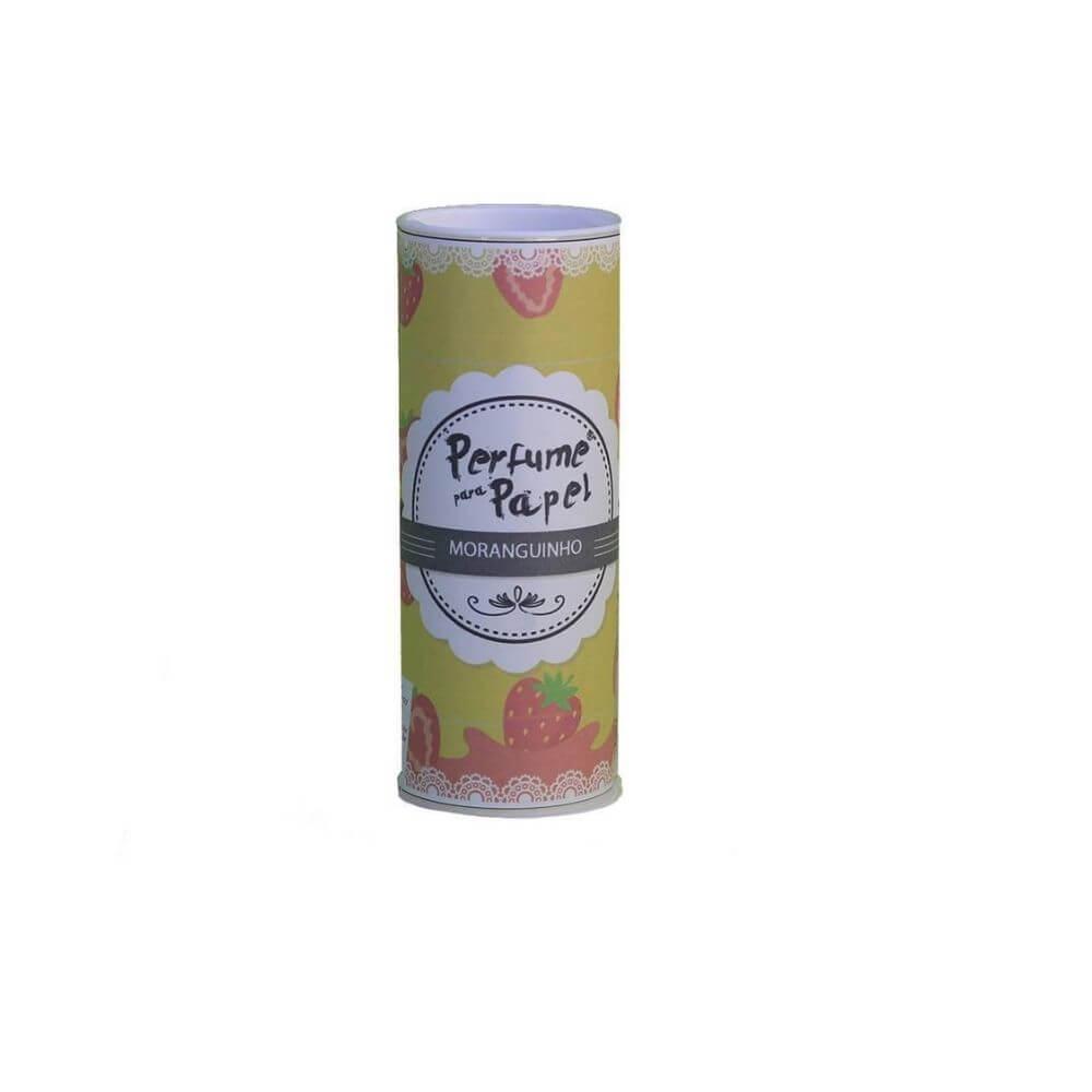 Perfume para papel - aroma moranguinho - 30 ml