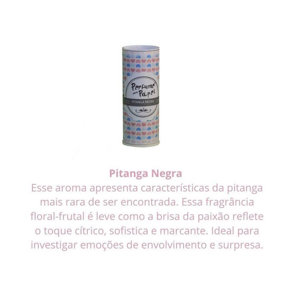 Perfume para papel - aroma pitanga negra - 30 ml