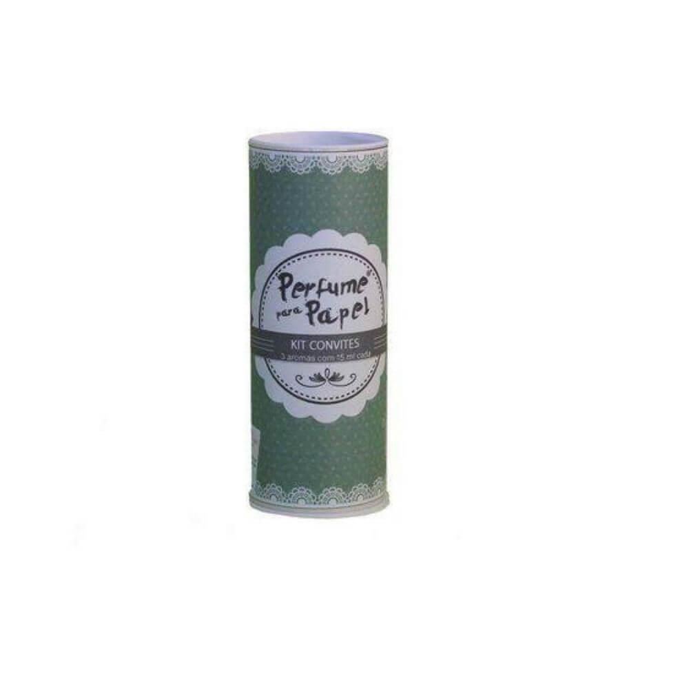 Perfume para papel - kit convites com 3 aromas de 15 ml