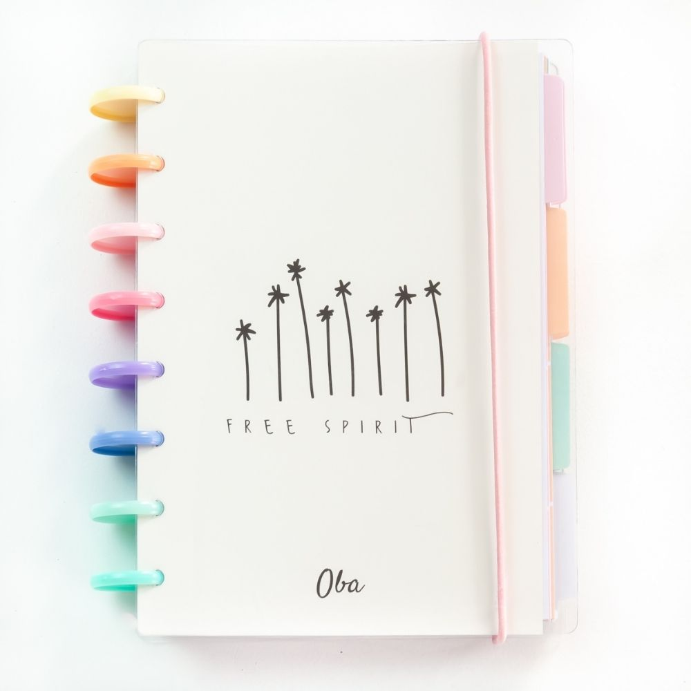 Planner anual free spirit (rainbow)