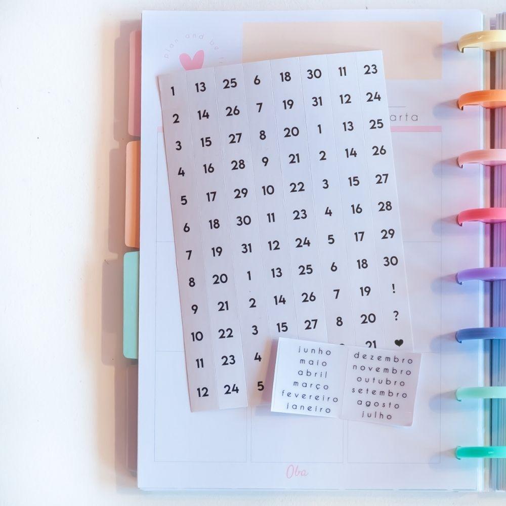 Planner anual rainbow