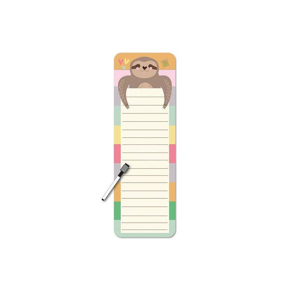 Planner diário magnético bicho-preguiça