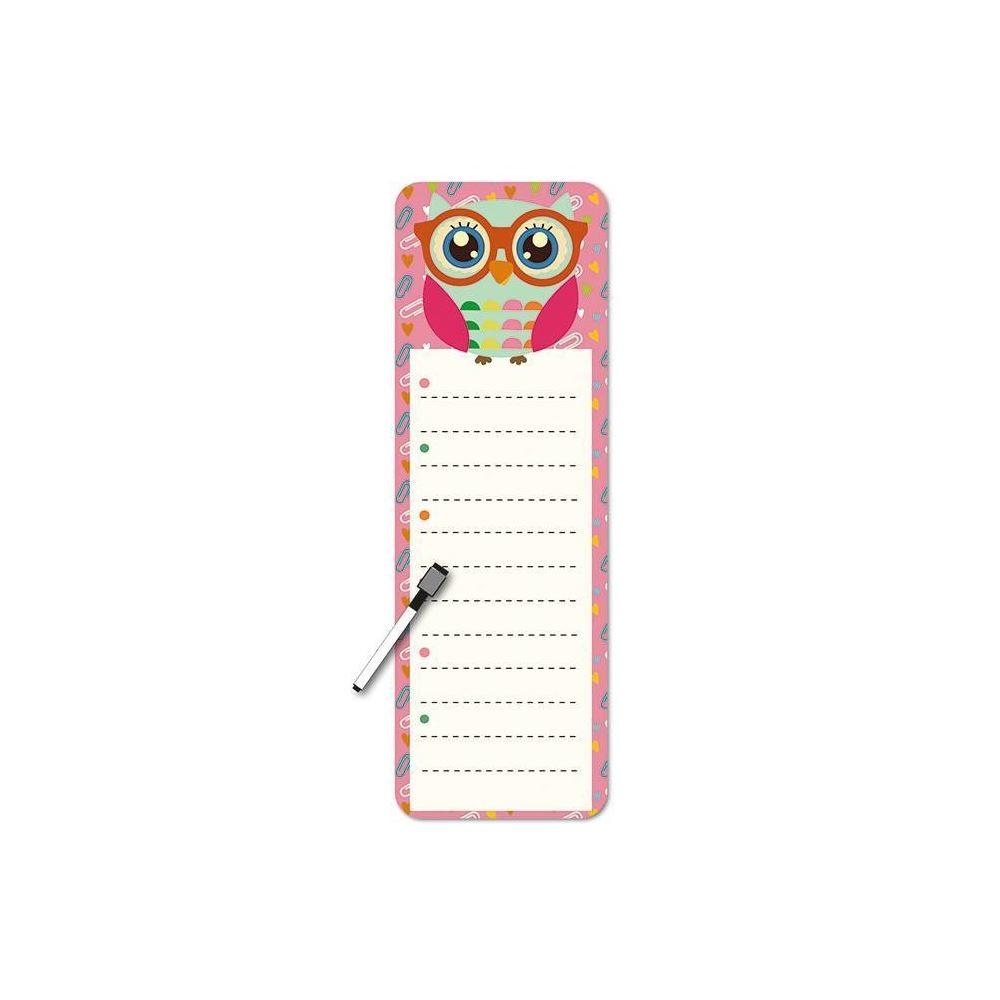 Planner diário magnético coruja