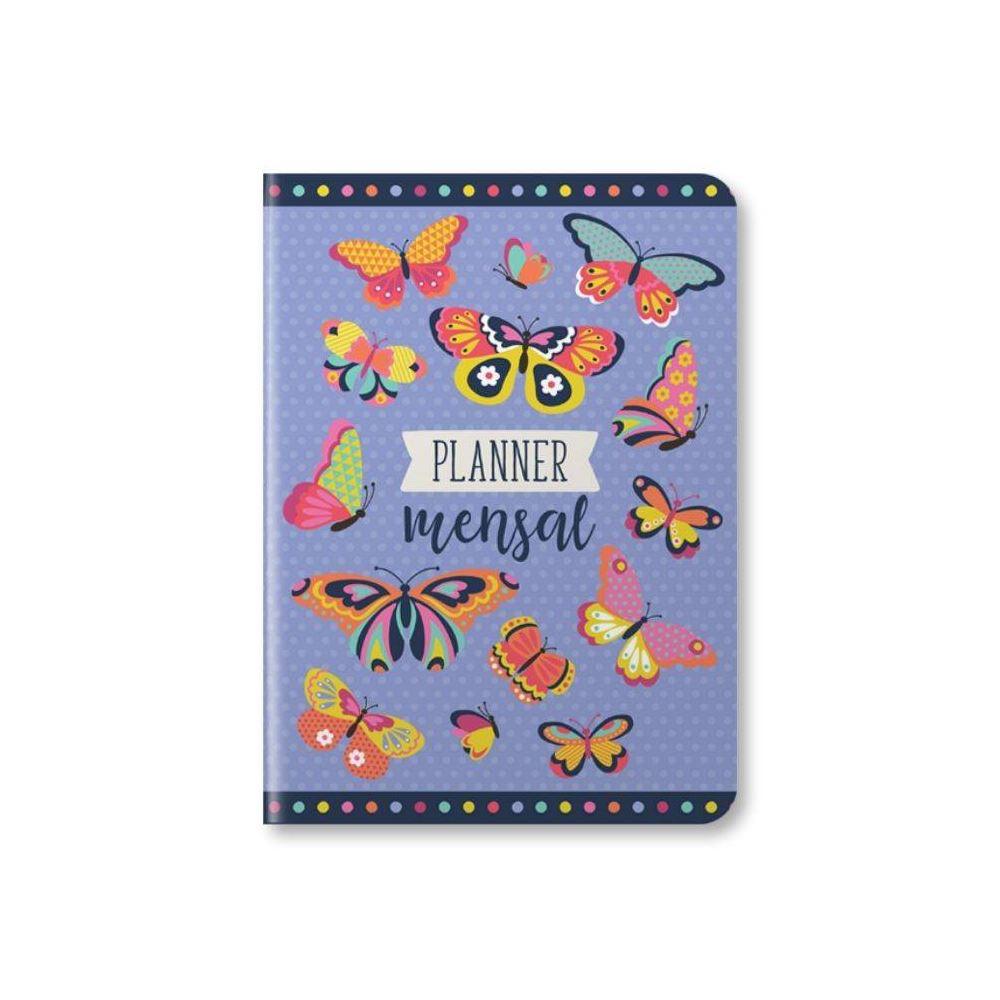 Planner mensal borboleta