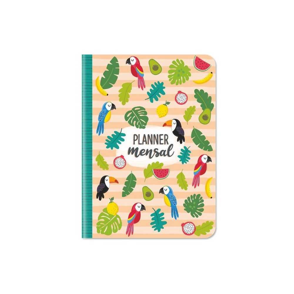 Planner mensal tropical
