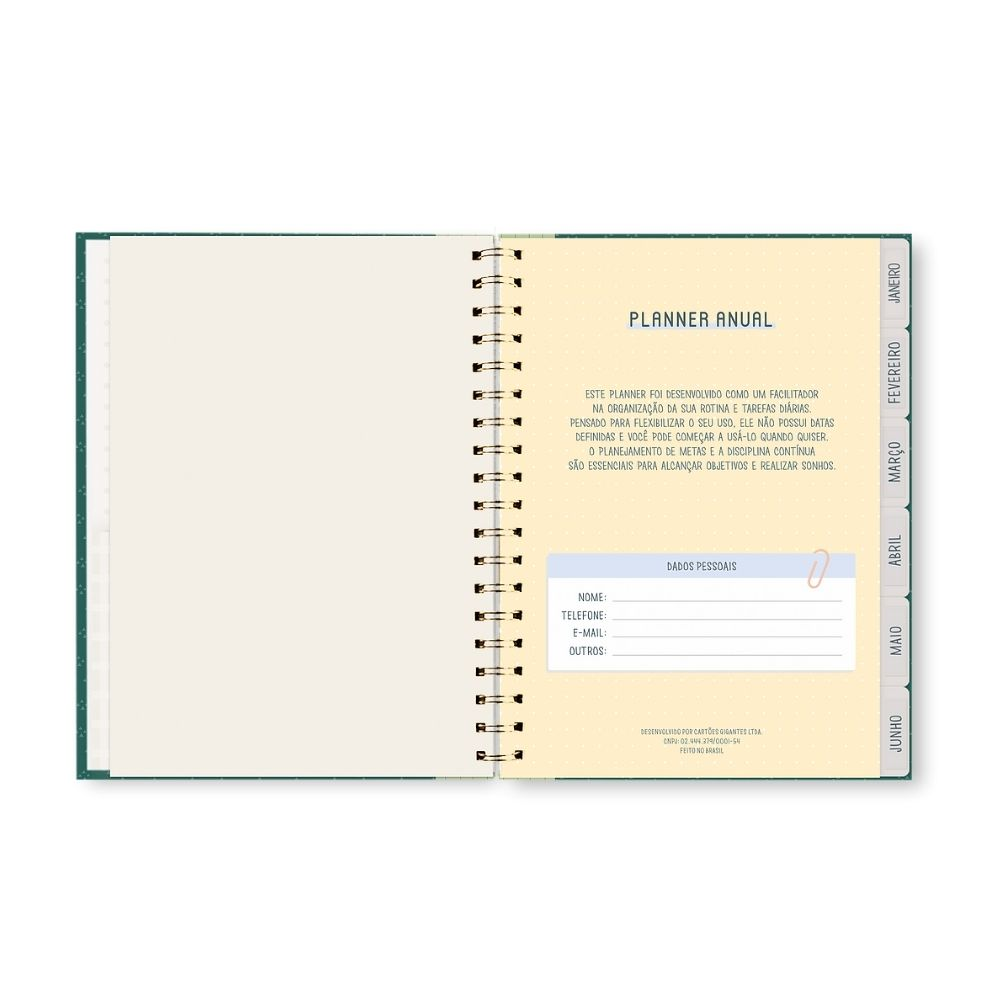 Planner permanente - Happy Time