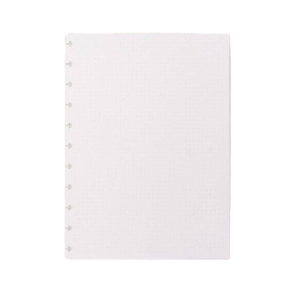 Refil pontilhado grande caderno inteligente