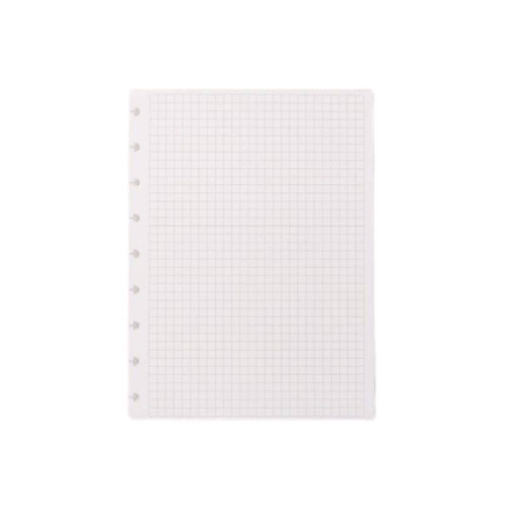 Refil quadriculado médio caderno inteligente